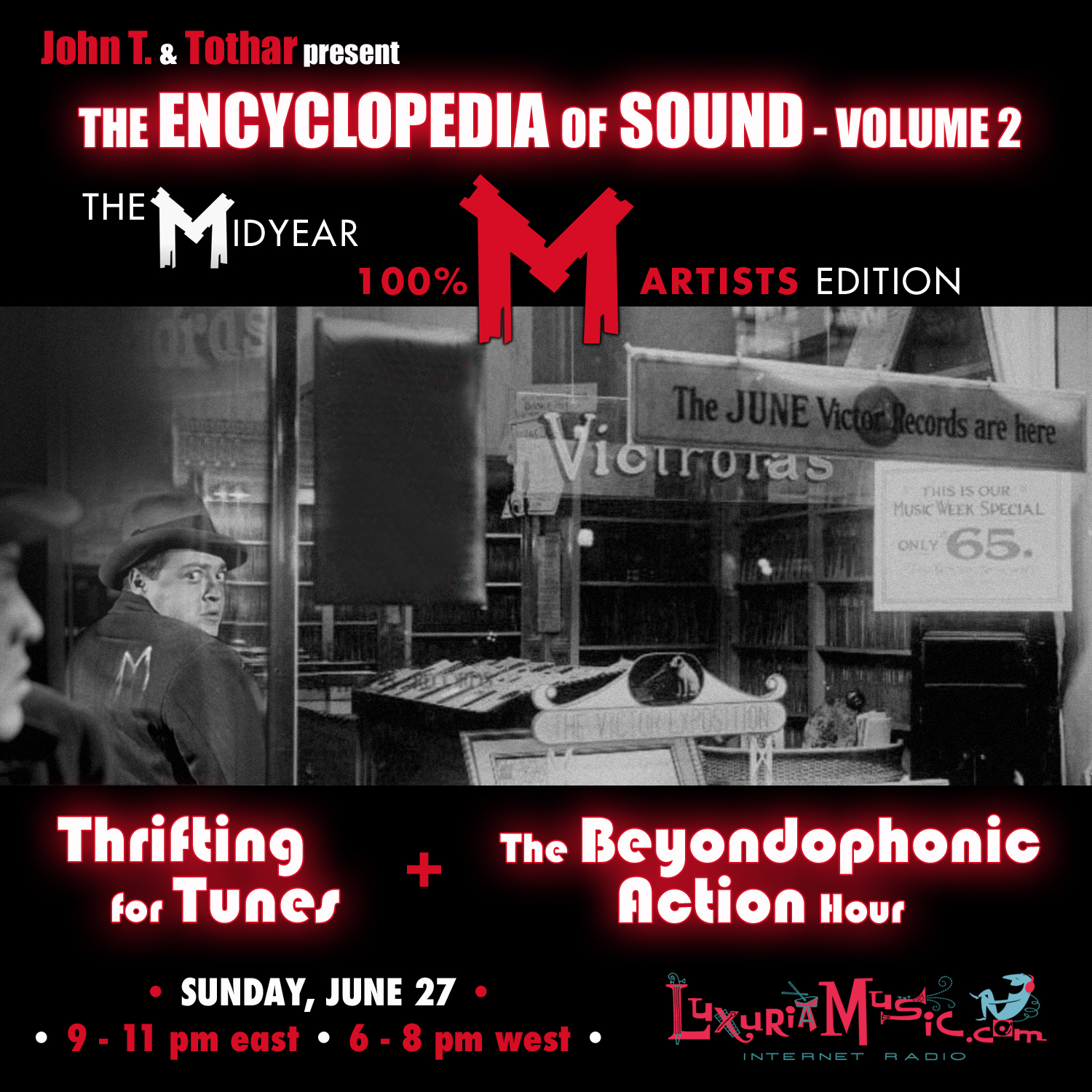 Encyclopedia of Sound Sunday with John T. and Tothar!